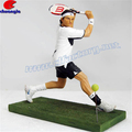 Custom Design Polystone Sports Tennis Player Action Figures