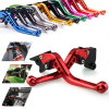 Custom CNC Aluminum Adjustable Motorcycle Clutch Brake Lever for Yamaha Kawasaki KTM
