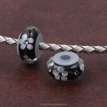 Hot selling Color combination Cystal Glass Beads with rubber tube hole for women diy jewelry making