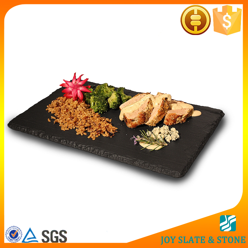 Black sushi slate plate in Dishes &Plates