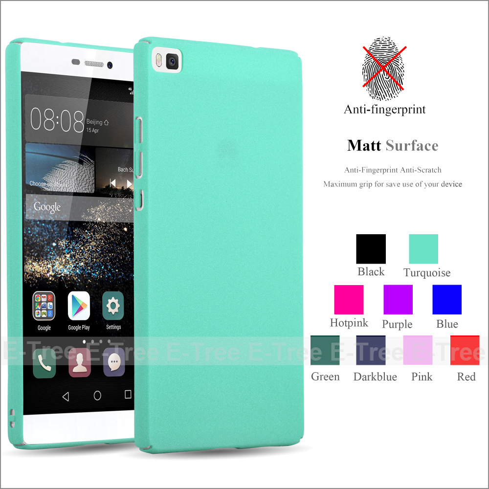 Ultra Thin Full Covered Matte Hard Back Mobile Phone Case Cover For Huawei P8