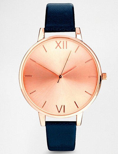 new design geneva big face women watch,super narrow slim watch