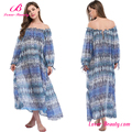 Fast Shipping Long Off Shoulder Cover Up Dresses Woman Beachwear
