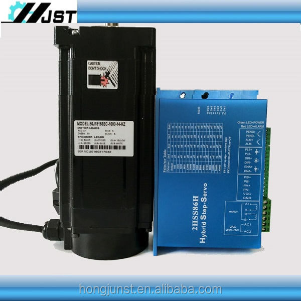 High quality NEMA34 closed loop stepper motor and driver 2HSS86H