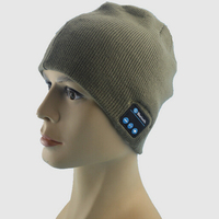 Wholesale Fabric Bluetooth Beanie Hat With Headphone