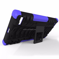Hybrid rugged mobile phone hard case cover for Blackberry Z30
