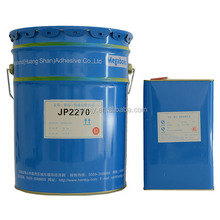Transparent liquid AB component laminate adhesive glue