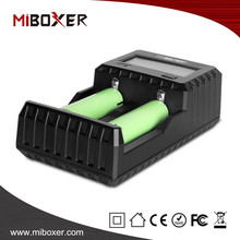 MiBoxer Rechargeable Smart Battery Charger for A/ AA/AAA/A/SC/D/Li-ION/IMR/ICR/INR/Ni-MH/Ni-Cd