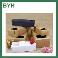 2016 Eco custom hard brown kraft paper drawer box for gift