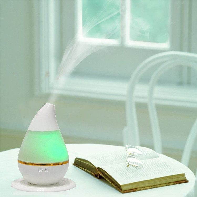 Mini air humidifier for home water drop humidifier portable multi-function aromatherapy air purifier