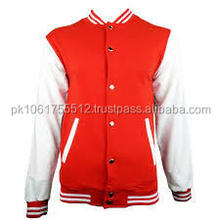 2015 high Melton Wool Varsity Jackets With Top quality Leather Sleeves