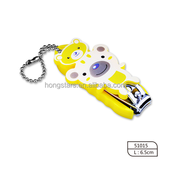 yellow kids nail clipper