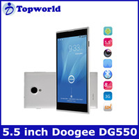 Factory Directly Sell Android 4.2.9 MTK6592 A7 octa core 1.7GHz 1GB/16GB 5.5Inch IPS 1280*720p Smartphone Doogee DG550