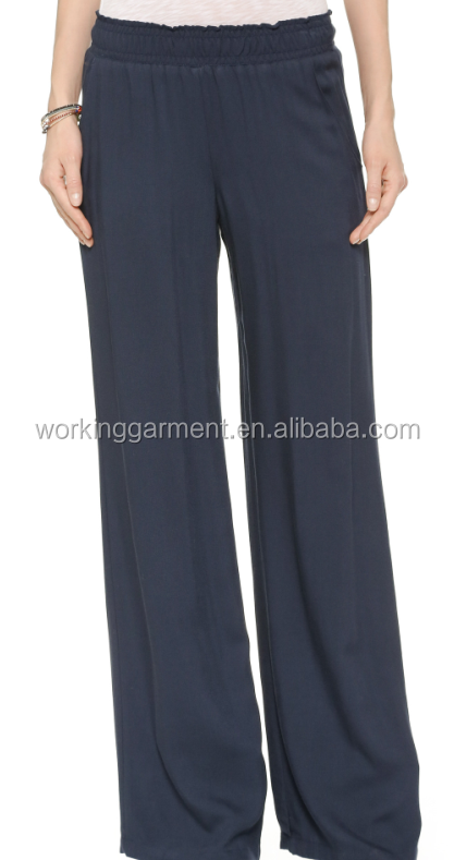Whosale Ladies Fashion Sleep Silk Pants Suit