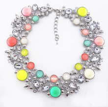 wholesale colorful collar necklace jewelry manufacturer