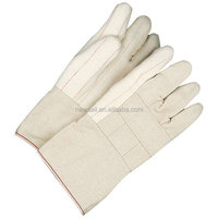 NEWSAIL Premium Flannel white Chore Gloves/ cotton garden gloves/Hot mill chore