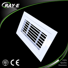 aluminum air conditioning parts air louver duct vent hinge fresh air return grille for door
