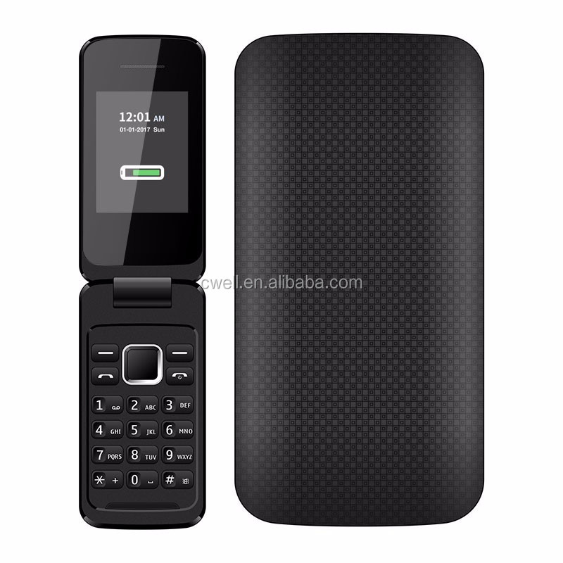 2.4 Inch TFT Screen Unlocked Dual SIM Card Multi Color Flip Mobile Phone P1