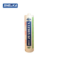 Acrylic anti puncture tyre silicone sealant for stainless steel glass