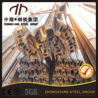 wholesale high quality 15kg/m train steel rail used for mine