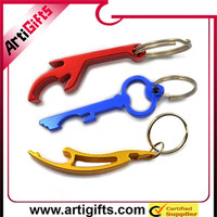 Promotion cheap 3D fish promotion bottle opener with key chain
