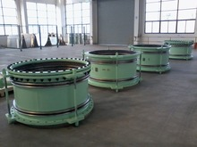 Circulating water corrugated expansion joint