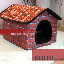 Most popular fashion design waterproof l,xl pet house dog house inside