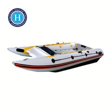 2016 New inflatable sailing catamaran speed boat for sale