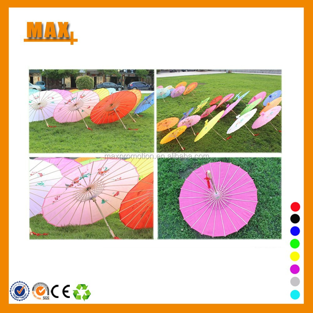 Traditional folk art style chinese silk umbrella, dance umbrella, craft umbrella