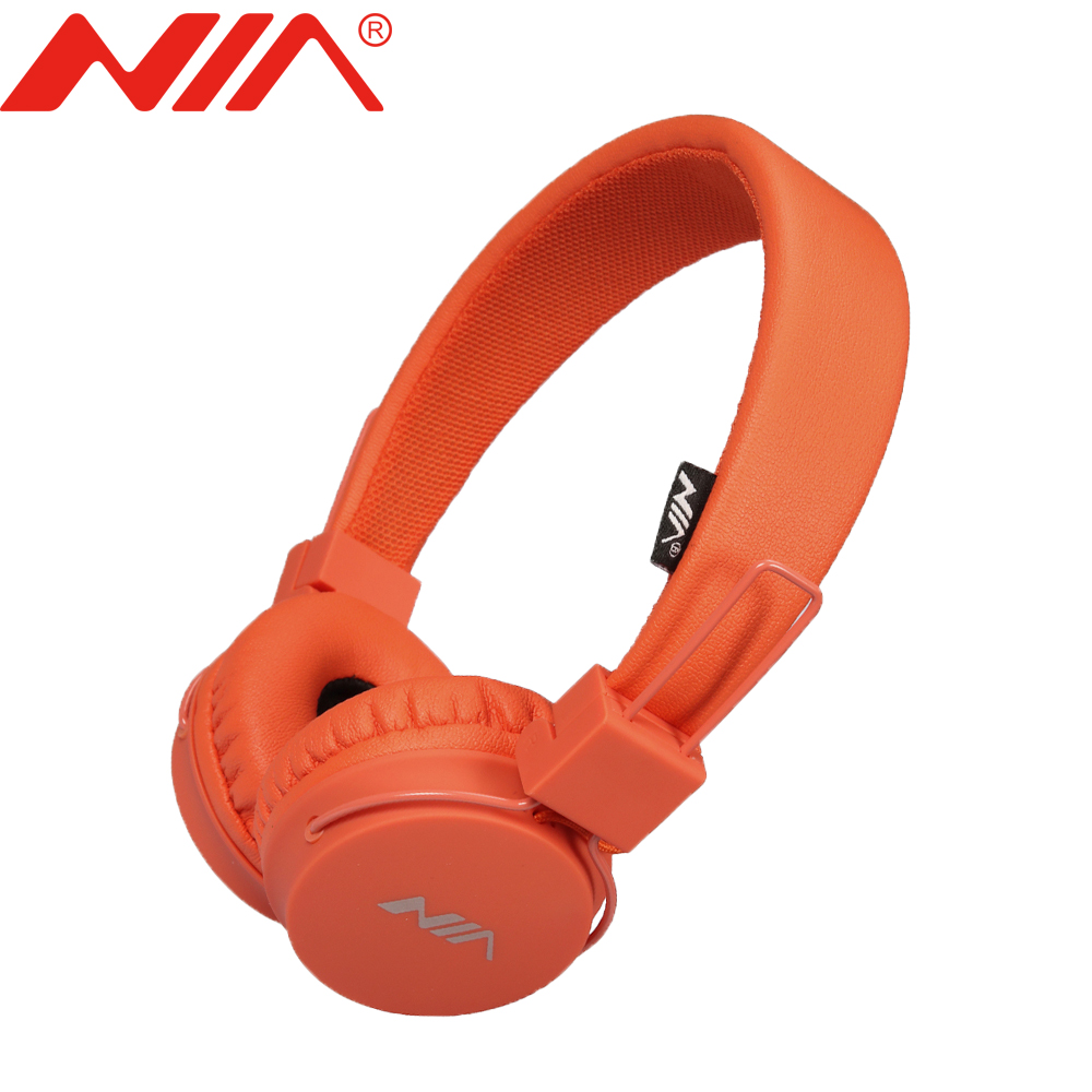 Original NIA <strong>A1</strong> Wired Stereo Headphone Classical Headsets Foldable Sport Headphones