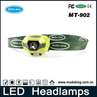 Ultra Bright LED Headlamp Light & Comfortable With Fully Dimmable White Light, Red, And Strobe Light Ideal