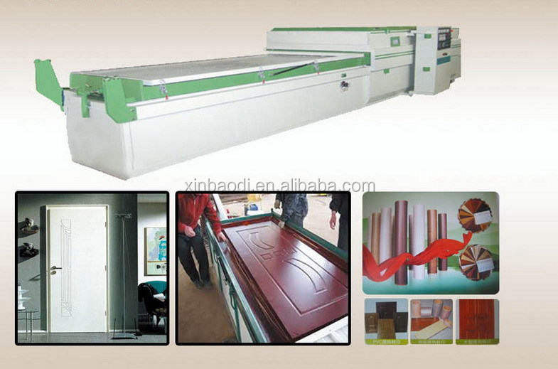 Woodworking machinery pvc vacuum press machine for door