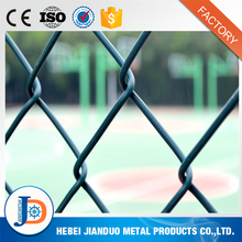 Produce 5 feet pvc coated soccer chain link fence