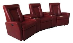 Electronic Or Manual Nitaly Leather Recliner Sofa Home Theater Recliner Sofa