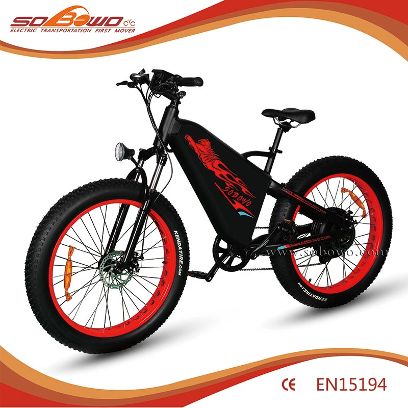 TT new model long range suspension fork electric bicycle