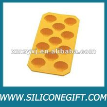 custom shaped design Silicone Ice cube mold pan/tray