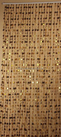New designs living room bedroom kitchen gold beaded curtain