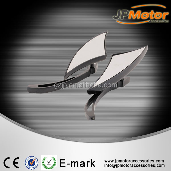 China manufacture high quality chopper style aluminum motorcycle rearview mirror