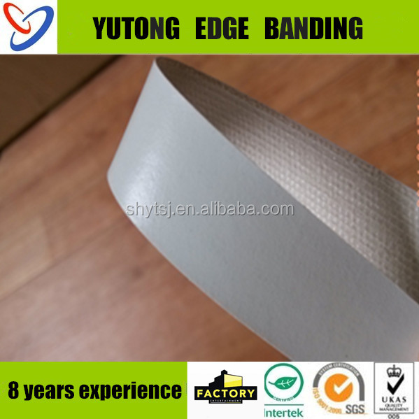 high grade interior decorative wood design melamine paper edge banding preglued for panel furniture