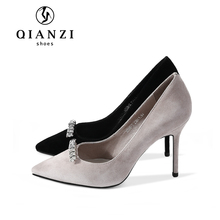D165 most beautiful crystal wedding shoes womens latest designs high heel