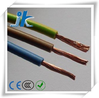 CE cetificated flexible stranded copper PVC H05V-K 1mm wire cable