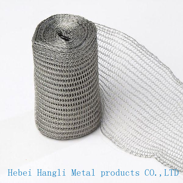 Knitted Stainless Steel Wire Mesh/Stainless steel knit mesh