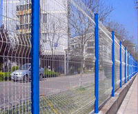 High Security and Practical Wire Mesh Fence