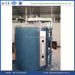 950 degrees high temperature well type annealing furnace