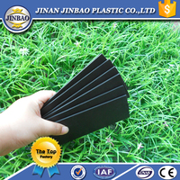 Top quality 100% pvc corrugated plastic sheet black foam board
