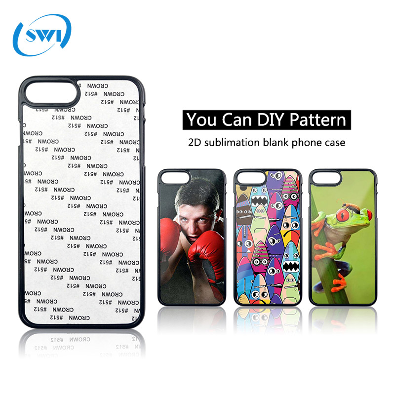 Personalized custom tpu pc mobile case for iphone 2d sublimation printing cell phone case for iphone x 8