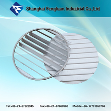 Round Type Air Conditoning plastic ceiling louver vent