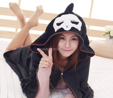 Cosplay Flannel Soft Cloak Overwatch Flannel Reaper Cloak Anime Costume
