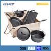 Non-stick Cast Iron Sets and Kits Pot and Pan