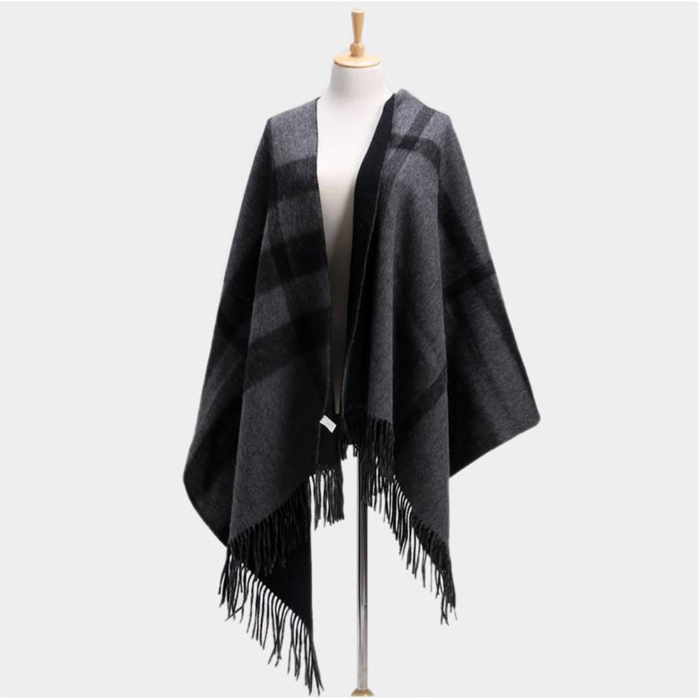 Lady Arab Tassel Wool Scarves And Shawls